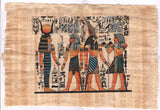 Egyptian Papyrus Pharaoh Art Handmade Egypt Decor Miniature Historical Painting
