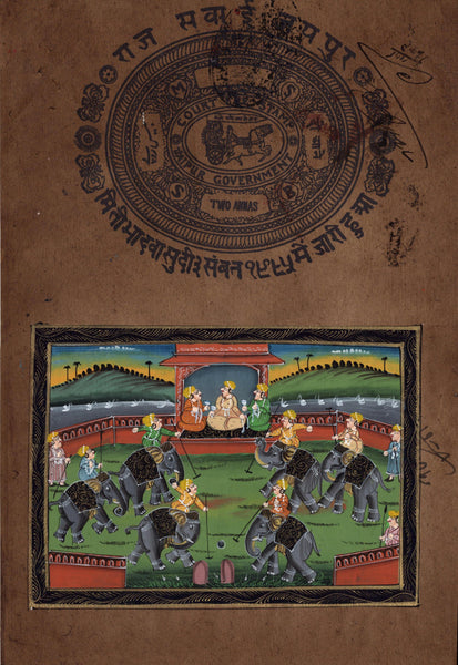 Indian Polo Art