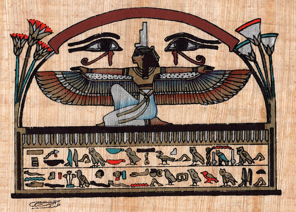 Goddess Isis Egypt Art