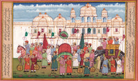 Maharajah Procession Painting