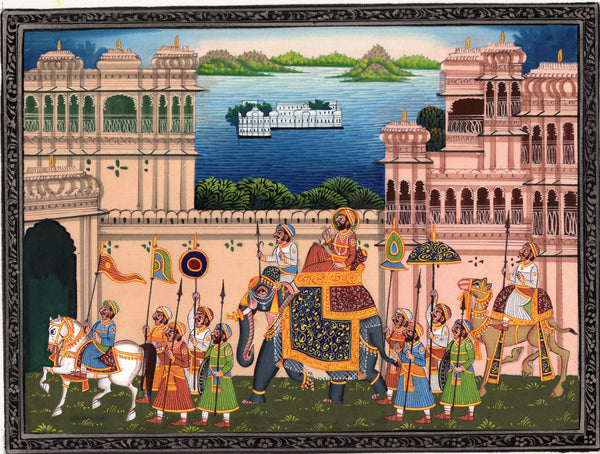 Rajasthani Procession Art
