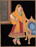 Rajasthani Indian Portrait Art