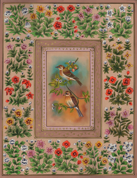 Floral Bird Artwork