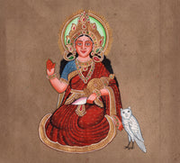 Goddess Bhumi Painting