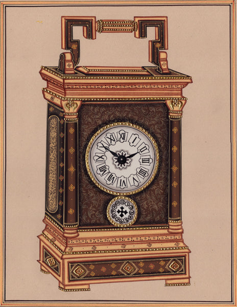 Indian Clock Art