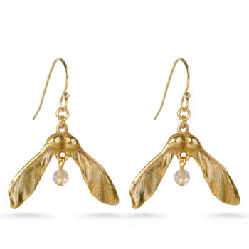 Maple Seed Earrings
