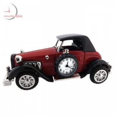 Antique Luxury Car Mini Clock