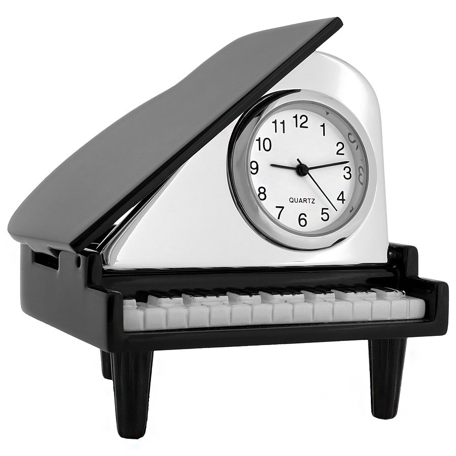 Grand Piano Miniature Clock