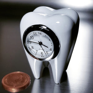Tooth Miniature Clock