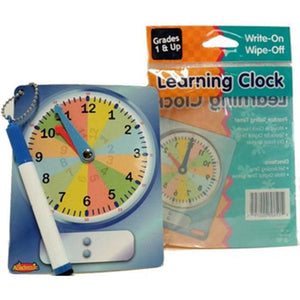 Dry Erase Learning Clocks