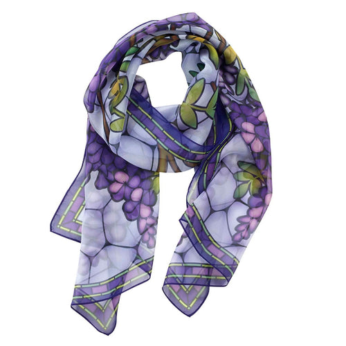 Louis Comfort Tiffany Hanging Wisteria Scarf