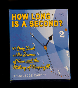 How Long is A Second? Knowledge Cards