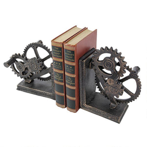 Industrial Gear Book Ends by Toscano