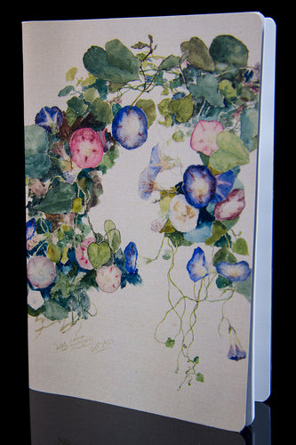 Morning Glories Large Notebook