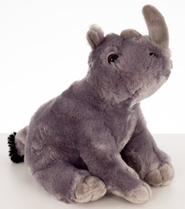 10'' Rhino Stuffed Animal