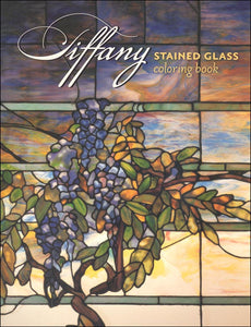 Tiffany Stained Glass Coloring Book