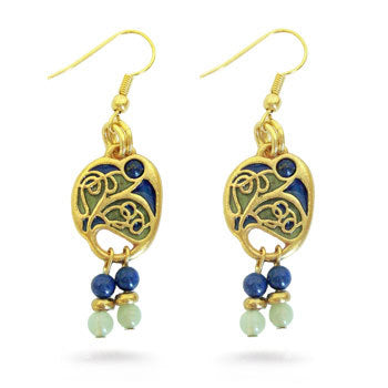 Vienna Secessionist Earrings