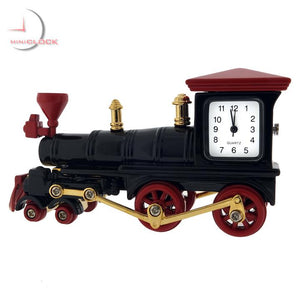 Vintage Train Miniature Clock