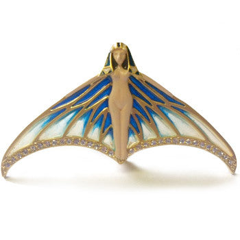 Winged Nymph Pin/Pendant