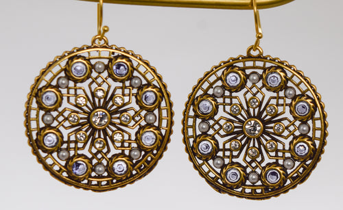 Deco Rosette Earrings