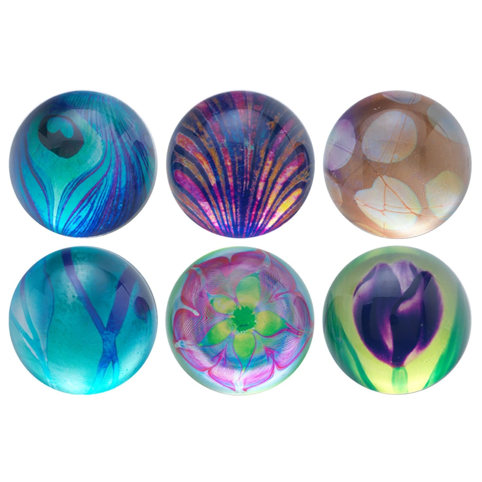 L.C. Tiffany Favrile Glass Magnets