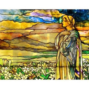 Tiffany Field of Lilies Puzzle