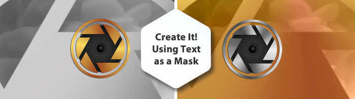 Using Text as a Mask