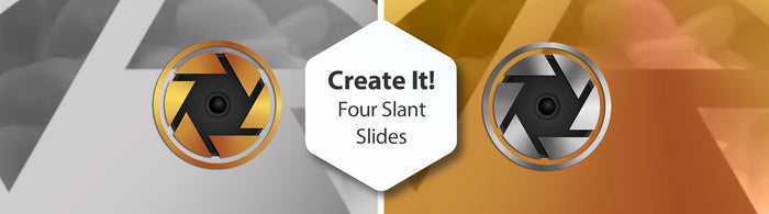Create It! Four Slant Slides