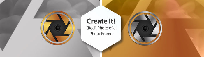 Create It (Real) Photo of a Photo Frame Slide