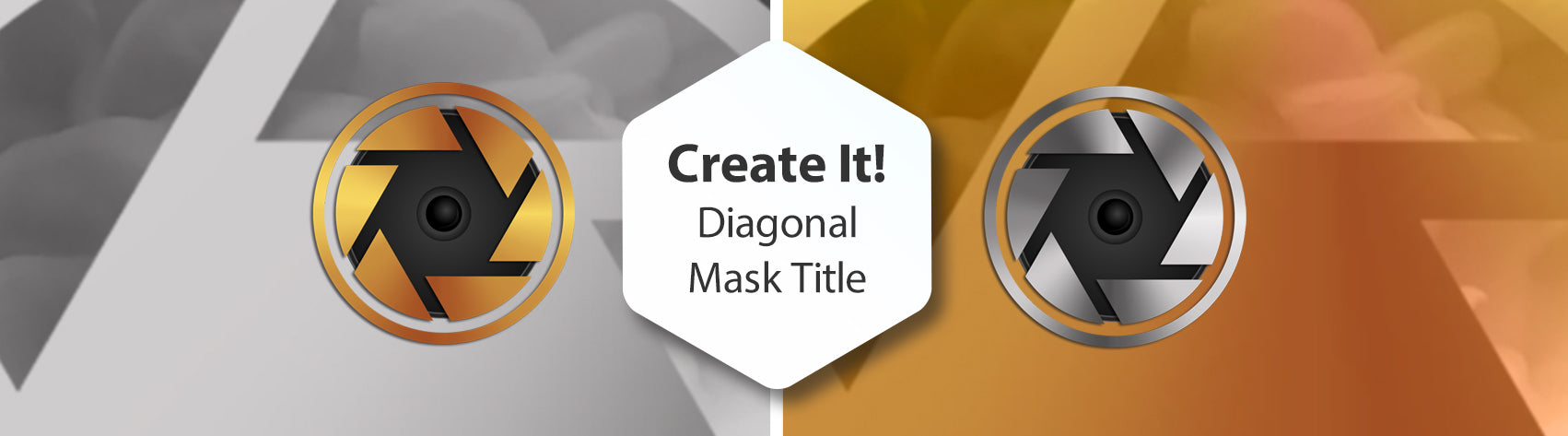 Create It! Diagonal Mask Title Slide