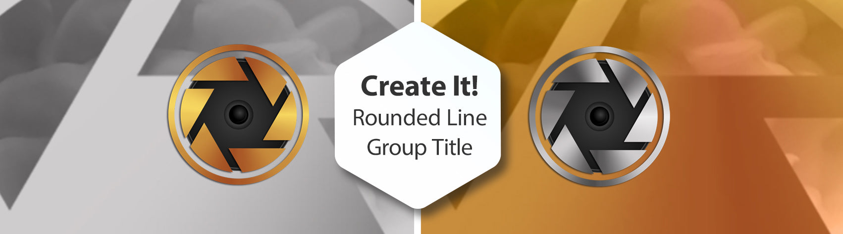 Create It! Rounded Line Group Title