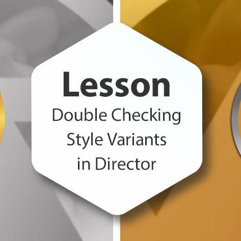 Lesson - Double Checking Style Variants in Director