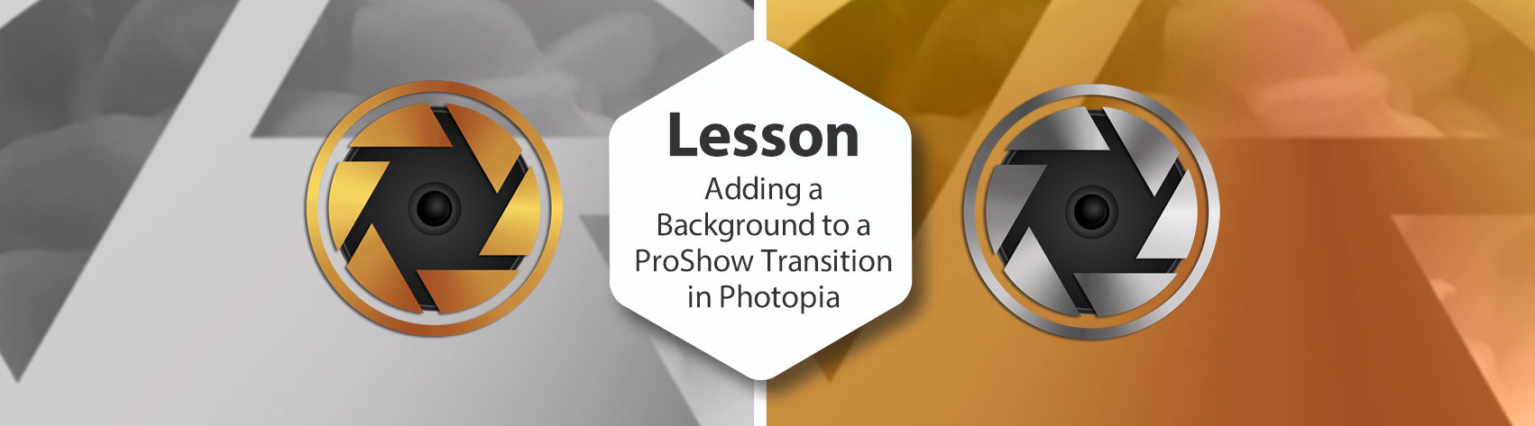Adding a Background to ProShow Transitions in Photopia