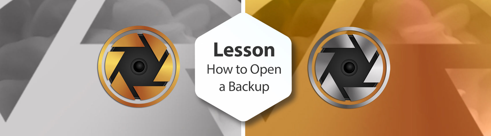 Lesson - How to Open a Backup