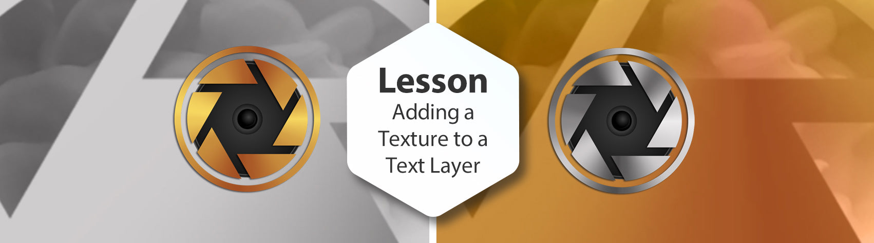 Lesson - Adding a Texture to a Text Layer