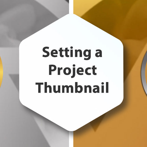 Setting a Project Thumbnail