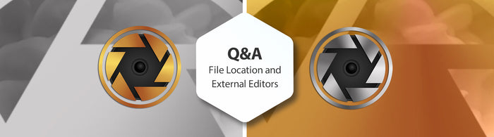 Q&A File Location and External Editors