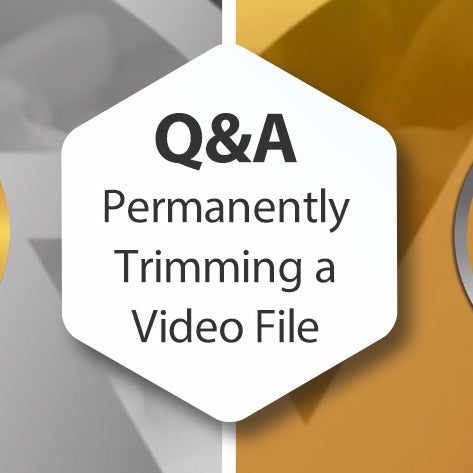 Q&A - How to Permanently Trim a Video File inside Photopia