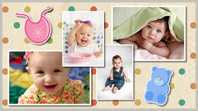 Baby Album Style Pack
