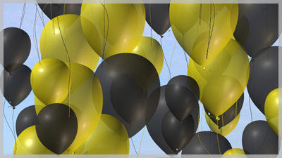 Balloons Black and Gold