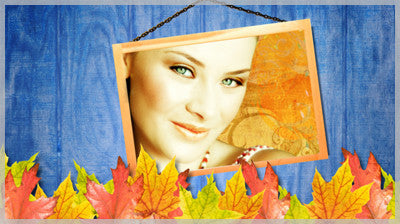 Blue Autumn Wood Slide Style Pack for ProShow Gold