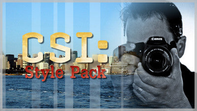 CSI Slide Style Pack and Template