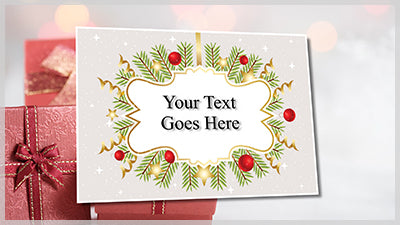 Christmas Card Flip Slide Styles