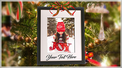 Christmas Swinging Frame for Photopia