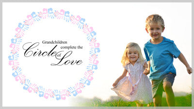 Grandchildren - Circle of Love Slide Style