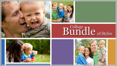 Collage Bundle of Slide Styles