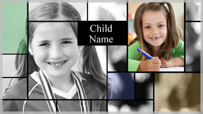 Elementary Collage Template and Styles