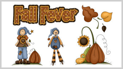 Fall Fever Clip Art Slide Styles