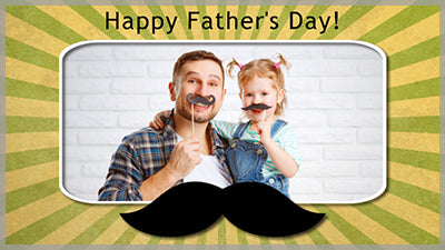 Father's Day Mustache Style