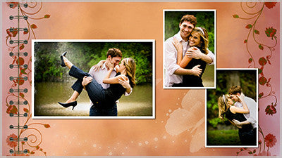 Full Page Photo Album Template and Styles